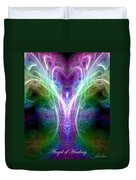 Angel Of Healing Duvet Cover