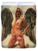 Angel Of Lust By Mb Duvet Cover