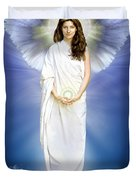Angel Of Pure Light Duvet Cover