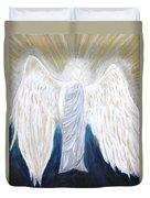 Angel Of Salvation Duvet Cover