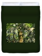 Angel Of Savanna Duvet Cover