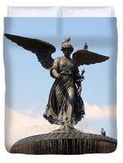Angel Of The Waters Pigeons Duvet Cover