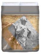 Angel Over  Washington Duvet Cover