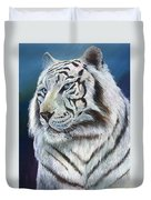 Angel The White Tiger Duvet Cover