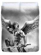 Angel Warrior Duvet Cover