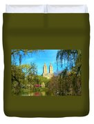 Perfect Morning In The Park Duvet Cover