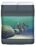 Angelfish Duvet Cover