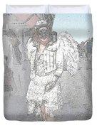 Angelic Goth Duvet Cover