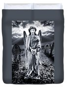Angelic Light Duvet Cover by Meirion Matthias