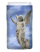 Angelic Peace And Beauty Duvet Cover