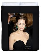 Angelina Jolie Duvet Cover by Nina Prommer