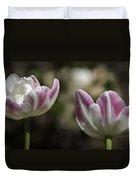 Angelique Peony Tulips 2 Duvet Cover