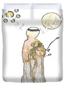 Angelita Blanco Duvet Cover