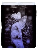 Angels And Fireflies Duvet Cover