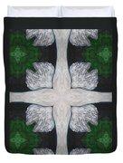 Angel's Cross Duvet Cover