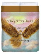 Angels Cry Holy Duvet Cover