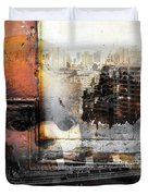 Angels In Former And Modern Times Duvet Cover