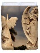 Angels In Havana Duvet Cover