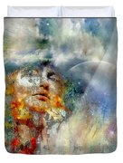 Angels In Heaven Duvet Cover