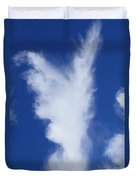Angels In The Sky  Duvet Cover
