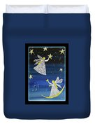 Angels, Joy, Lucky Stars Duvet Cover