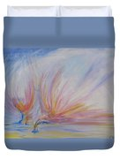 Angels Of Revival Ps 104 4 Duvet Cover