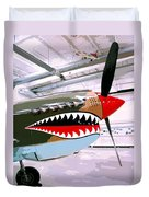 Anger Management Palm Springs Air Museum Duvet Cover