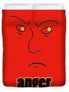 Anger Duvet Cover