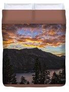 Angora Ridge Sunset 9 Duvet Cover