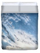 Angry Clouds Duvet Cover