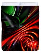 Angry Clown Abstract Duvet Cover