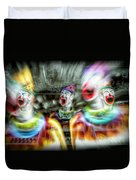Angry Clowns Duvet Cover