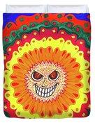 Angry Flower Duvet Cover