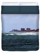 Angry Ocean Duvet Cover