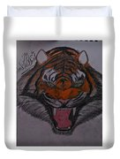 Angry Tiger Duvet Cover
