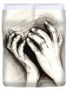 Anguish #2 Duvet Cover