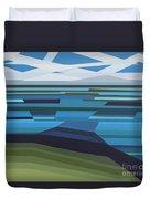 Angular Lake Duvet Cover