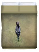 Anhinga By Darrell Hutto Duvet Cover
