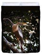 Anhinga Water Fowl Duvet Cover