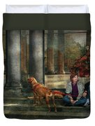 Animal - Dog - Hello There Duvet Cover