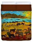 Animal Exodus Duvet Cover