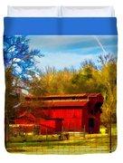 Animal Farm Painting Duvet Cover