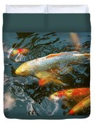 Animal - Fish - Bestow Good Fortune Duvet Cover