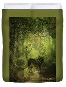 Animal Sprits - The Wolf Duvet Cover