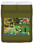 Animal Tapestry Duvet Cover