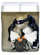 Anime - Personification Of A Lucky Girl  Duvet Cover