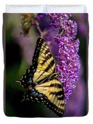 Anise Swallowtail Duvet Cover