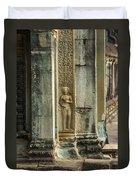 Ankgor Wat  Apsaras Duvet Cover
