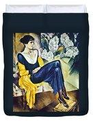 Anna Akhmatova (1889-1967) Duvet Cover