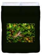 Anna Hummingbird  In Flight 2 Duvet Cover